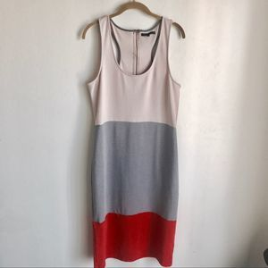 UO Lucca Couture Color Block Sleeveless Dress Sz L